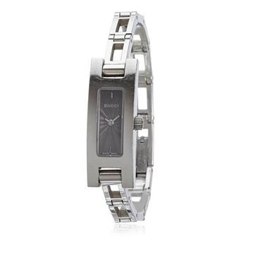 Gucci 3900L Stainless Steel Silver Tone Vintage Watch
